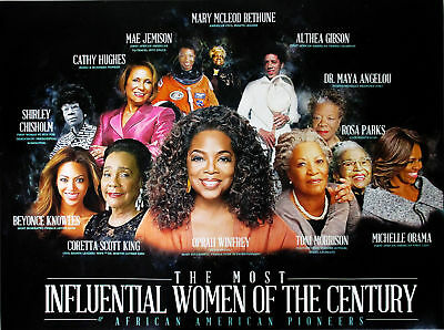 African American History Posters (Famous Black Women Poster African American History Most Influential People)