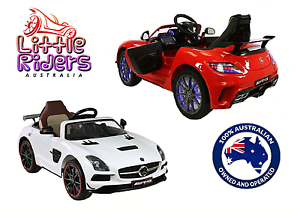 Mercedes Benz licensed Ride On Toy Car For Kids Remote Control Maidstone Maribyrnong Area Preview
