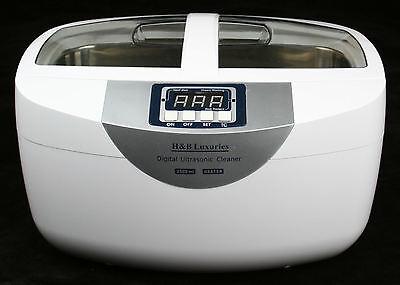 Pro 160 Watts 2.5 Liters Digital Heated Ultrasonic Cleaner Dental Gun Tattoo