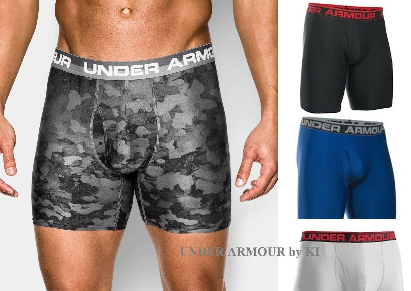 Under Armour HeatGear Men's Boxer Briefs UA Original Series