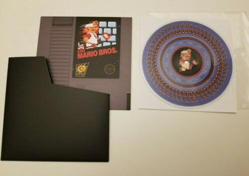 "Super Mario Bros. 1 vinyl record 7"" picture disc soundtrack NOT MOONSHAKE NEW"