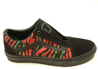 Vans A Tribe Called Quest US 9.5 EU 42.5 Old Skool Skateboarding Mens Shoes