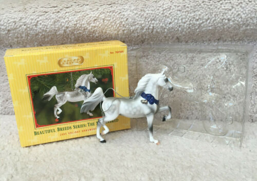 BREYER Beautiful Breeds Series The Saddlebred Horse 2015 Holiday Ornament