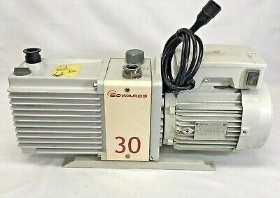 Edwards 30 Rotary Vacuum Pump E2m30
