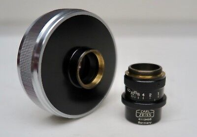 Carl Zeiss Luminar 63mm 145 Close Focus Macro Camera Microscope Objective Lens