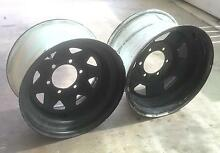 4WD Sunraysia Rims - 6 available - CHEAP!!! Mount Warren Park Logan Area Preview