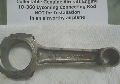 Memorabilia Collectible Genuine Textron Lycoming Aircraft Engine Connecting Rod
