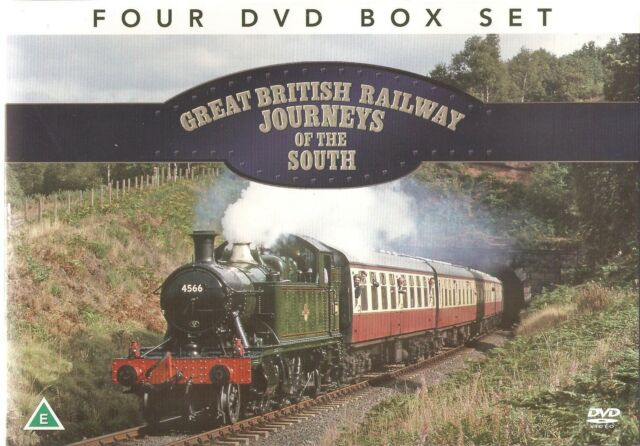 GREAT BRITISH RAILWAY JOURNEYS OF THE SOUTH OF ENGLAND 4 DVD SET SEVERN VALLEY