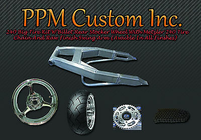 240 Fat Big Wide Tire Kit Swingarm Gsxr 1000 750 600 Lk Best Price