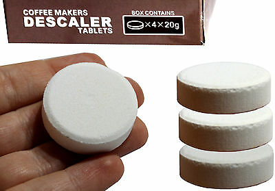 Drench Descaler Solution Keurig & Espresso Coffee Maker Machine Tablets Descaling