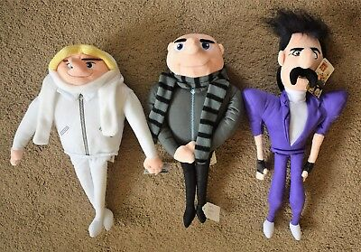 SOFT TOY DESPICABLE ME MINION CHARACTERS DRU BRATT ROCKSTAR Or FELONIOUS GRU ](Despicable Me Felonious Gru)