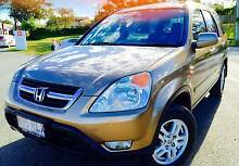2003 AUTO HONDA CR-V SPORT FULL SERVICE HIST RWC CLEAR TITLE PPSR Southport Gold Coast City Preview