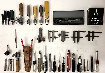 Lot Of Machinist Tools Hand Chucks Pin Vise Tool Makers Parallel Clamps ...