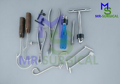 Orthopedic Instruments 9 Pcs Set Surgical Veterinary Instruments