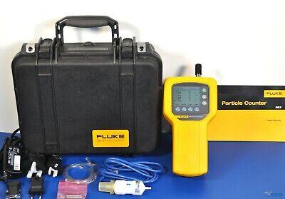 Fluke 983 Air Particle Counter Iaq 6 Channels 0.3m 0.5m 1.0m 2.0m 5.0m 10m
