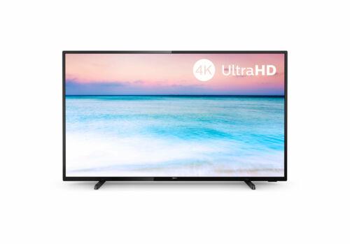 PHILIPS 43 Zoll Fernseher 43PUS6504/12 4K UHD LED Smart TV WLAN schwarz