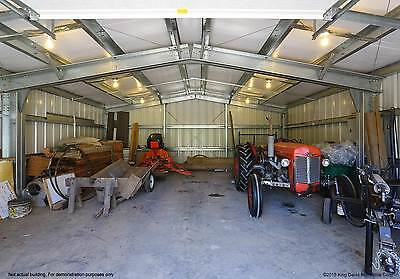 Thunderbolt Steel Buildings 25 X 30 X 12 Metal Building Garage Kit