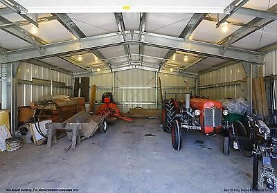 Thunderbolt Steel Buildings 25 X 30 X 12 Metal Building Garage Kit