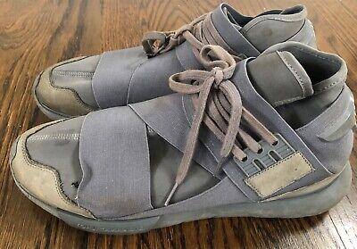 Y-3 Qasa High Grey size 12 shoes - Yohji Yamamoto Adidas