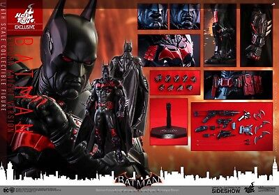 HOT TOYS SIDESHOW EXCLUSIVE BATMAN FUTURA KNIGHT VR! NEW & SEALED! DC XM PRIME!