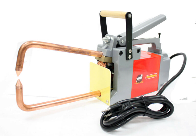 "Electric Spot Welder 1/8"" Welding 1780 Electrodes Pressure Force for Sheet Metal"