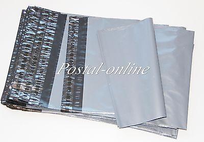 200 x  Grey Plastic poly  Mailing Bags 250 x 350 mm 10 x 14 10x14 200x postage