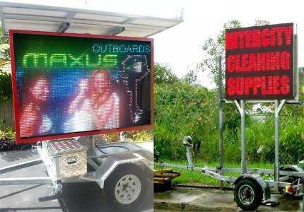 LED TRAILER SIGNS - SUPER CHEAP from $3900