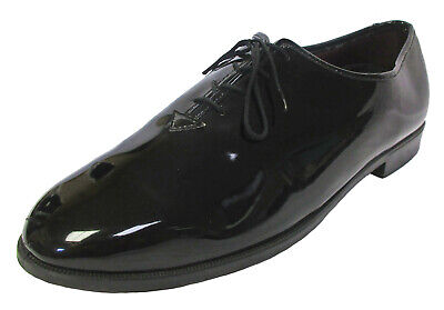 Boy's Black Tuxedo Shoes Round Toe Lace Up Formal Wedding Ringbearer Church](Ring Bearer Shoes)