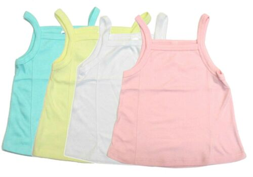 Camisole Girls 4-Pack Swing Tank Top Loose Undershirt Spaghetti Strap Kids New