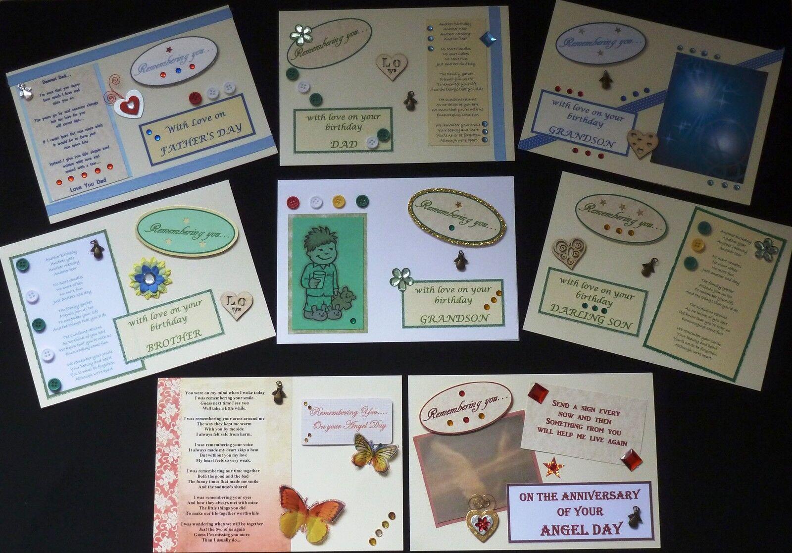 GemmaShay Memorial Greetings Cards