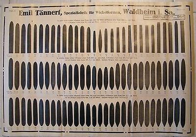 WALDHEIM, Plakat ca. A 2 (Bogen14) um 1930, Zigarren-Wickelformen-Fabrik Tännert
