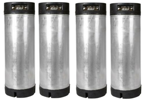 4 Pack of 5 Gallon Ball Lock Kegs Reconditioned - Homebrew Beer - Free Shipping!