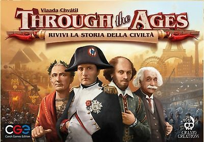 Through the Ages, Gioco da Tavolo, Italiano, Cranio Creations
