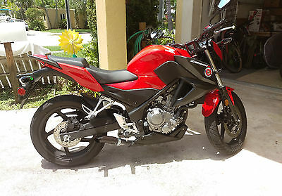 Radiant Cycles Shorty GP Exhaust Motorcycle Slipon Short Muffler Pipe for 2013-2018 Honda CB500F CB500 F BLACK