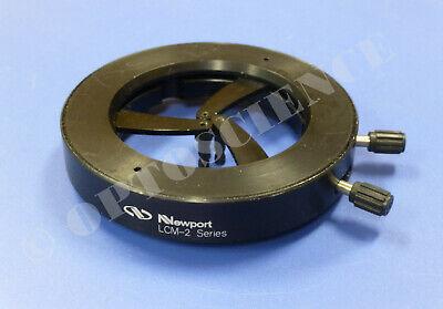 Newport Lcm-2 Self-centering Lens Mount For 0.125 To 2.375 Optics Diameter