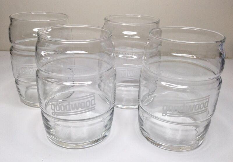 1 Goodwood Barrel Shaped Beer Glasses Louisville Kentucky