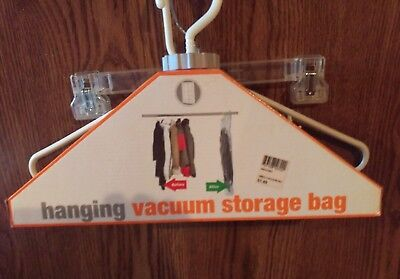 Home Basics Hanging Vacuum Storage Bag for sale  Shipping to India