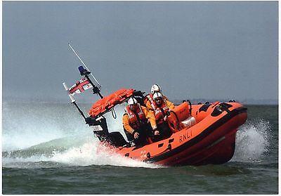 Southend on Sea Lifeboat Postcard - Atlantic 75 Lifeboat