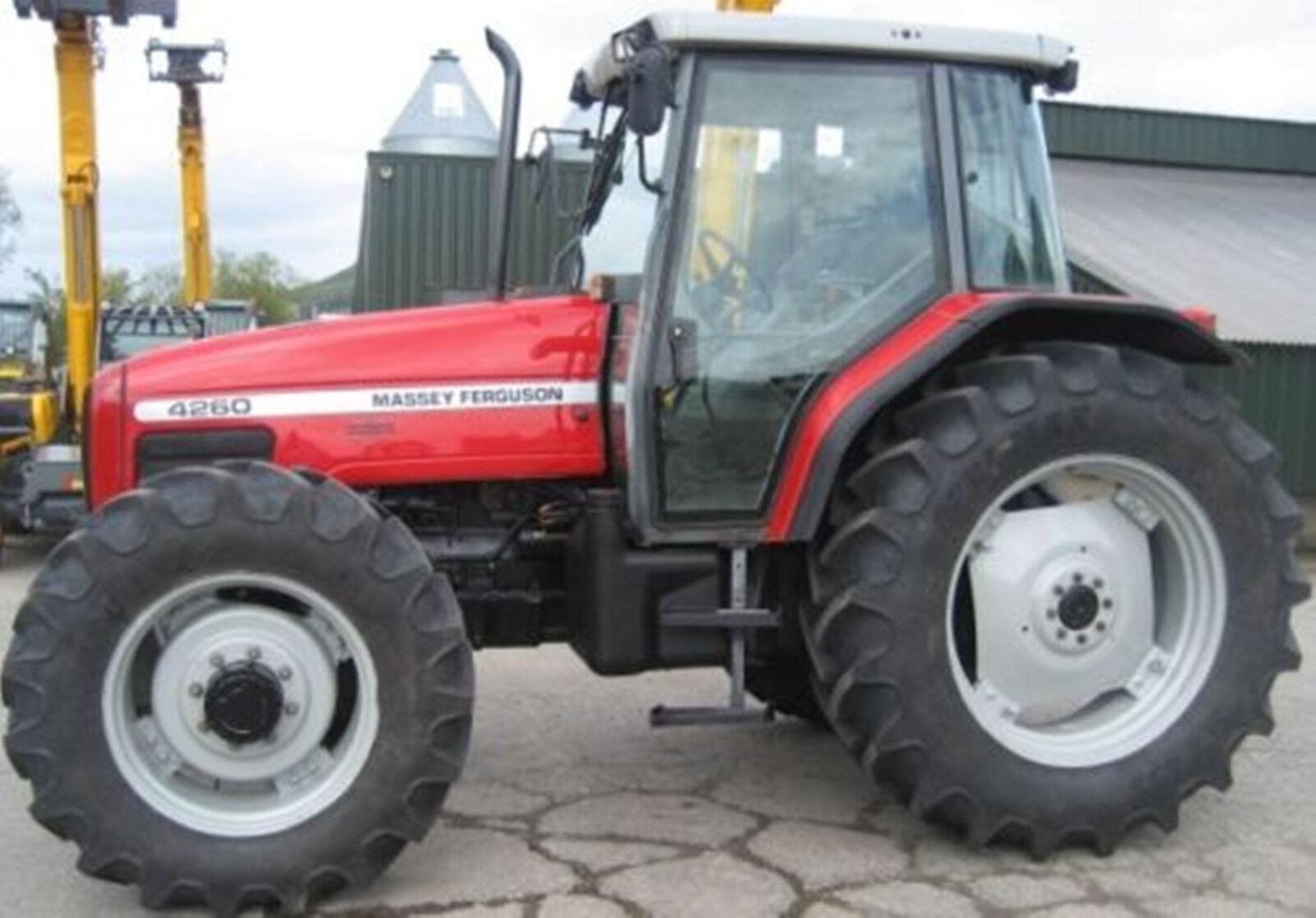 4 of 12 Massey Ferguson Tractor Workshop Manuals 4200 Series