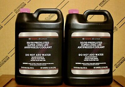 2 Gallons ToyotaLexus Super Long Life Pink Coolant Fast Shipping