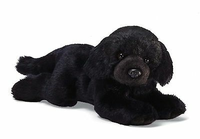 Gund Black Labrador Dog Stuffed 14 inch Animal Plush Toy New with Tags Lab Puppy for sale  Shipping to India