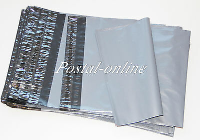 5000 x Grey Plastic Mailing Bags 165 x 230 mm 6 x 9 6x9 STOCK CLEARANCE
