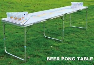 Professional 8ft Beer Pong Table Drinking Game SOLD /PENDING