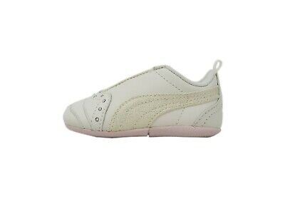 Puma Sela Diamond Infant Toddler Size Shoes For Girls Off White Pink