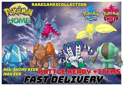 Pokemon Sword Shield ✨All 6 Regis Shiny ✨ REGIDRAGO REGIELEKI 6IV FAST DELIVERY