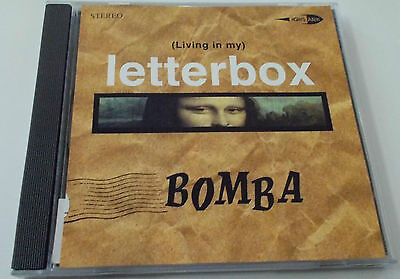 Letterbox Cd - BOMBA ( LIVING IN MY LETTERBOX ) CD SINGLE 2 TRACKS VGC 1999