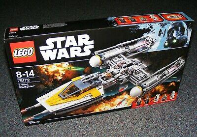 STAR WARS LEGO 75172 Y-WING STARFIGHTER B-STOCK BRAND NEW SEALED BNIB