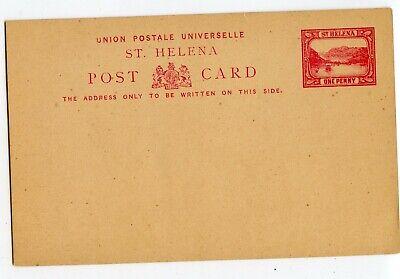 ST. HELENA  1d CARMINE POSTAL CARD, CLEAN                                (B908)