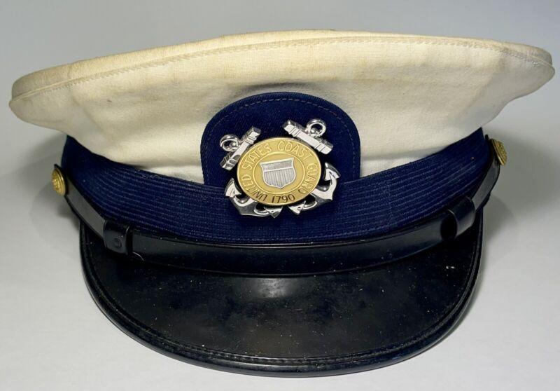Vintage Coast Guard Military Cover Hat Cap