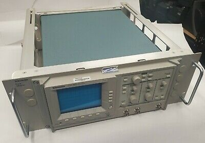 Genuine Tektronix Tas 465 Oscilloscope W Rackmount Tested Warranty